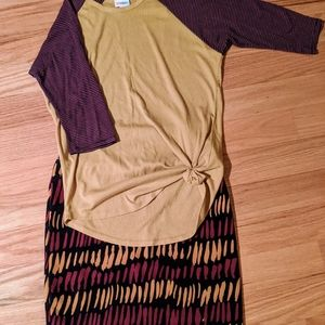 Lularoe Randy & Cassie outfit